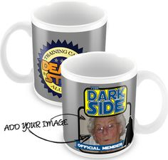 Personalised Star Wars inspired mug, if you feel your Dad has the force :) £7.00
