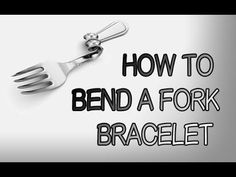 Hi this is a add-on video on my fork bracelet videos, showing you specifically how to bend a fork bracelet. Silver Spoon Jewelry, Metal Jewelry, Jewelry Tools, Gothic Jewelry, Silver Jewellery, Gemstone Jewelry, Jewelry Crafts, Handmade Jewelry, Jewelry Ideas