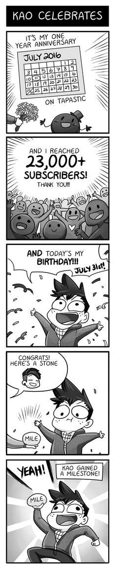 Mondo Mango :: Kao Celebrates | Tapastic Comics - image 1