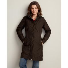 Eddie Bauer WeatherEdge? Girl on the Go? Insulated Trench Coat