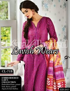 Gul Ahmed Embroidered Lawn 2013