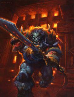 Rend Blackhand - World of Warcraft | AlexHorley on DeviantArt