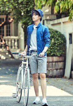 Photo )) Cha EunWoo & SeolHyun for S/S Collection of Lafuma Cha Eun Woo, Asian Actors, Korean Actors, Beautiful Boys, Pretty Boys, Park Jin Woo, Cha Eunwoo Astro, Astro Wallpaper, Lee Dong Min