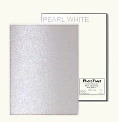 PhotoFrost Ultimate Edible Design Paper - pearl 12/pkg - Made in USA