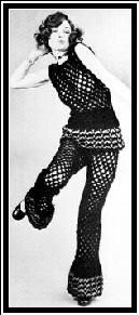 The Gypsy Crochet Thing by Jack Frost (the yarn people), Volume 79, 1970 | Top and Pants