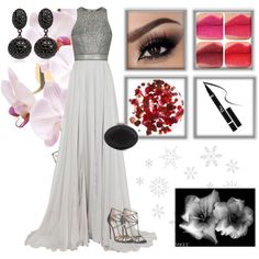 """Night winter"" by natallia-tokyo on Polyvore"