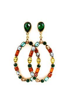 Paige Earrings in Madori