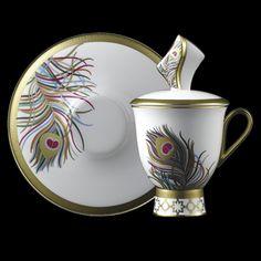 """Persona"" cup and saucer  Leah -Prouna USA"