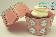 Blog Hop 2o Aniversario Latinas en America - Ruthie Lopez - Dilo en Español - Cupcake box 3
