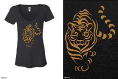 Grrrrrr. We have this design and so many other tigerific designs. #hipkraft #tiger #glitter #rhinestone #tigerlove #jungle #apparel #womenstee #ladies #juniors #shineon #lifeofpi