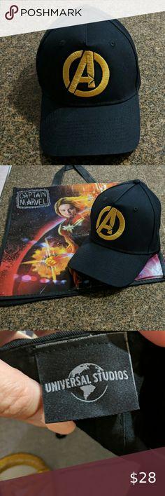 Guardians of the Galaxy Gold Logo Baseball//Trucker Cosplay Cap//Hat on Black Cap