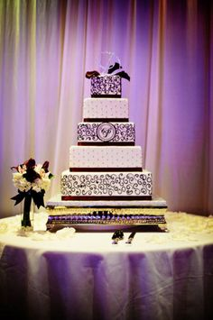 Purple wedding ideas.
