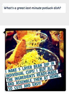 Last Minute Potluck Dish Ideas