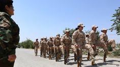 ISIS jihadis are threatening to marry any female Kurdish soldiers they capture in battle, says Colonel Nahida Ahmad Rashid, commanding officer of the 2nd Battalion Iraqi Kurdish Peshmerga Female.