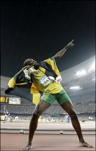 Usian Bolt   The fasted man in the world✔️