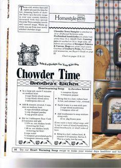 Chowder Town Soup Mugs - February 1994