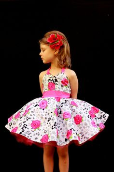 Pink Rose Dress by DarlingInDisguise on Etsy, $45.00