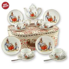 Peater Rabbit tea set