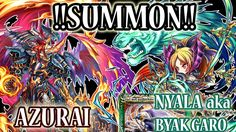 Azurai & Nyala Summons!! Funny Moments! [ITA] - BF Global Exclisive Units