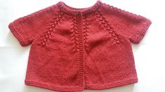 Ravelry: Coffalot's Ruby red cardigan
