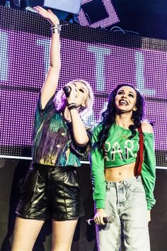Perrie and Jade from Little Mix Little Mix Style, Little Mix Girls, These Girls, Little Mix Perrie Edwards, Litte Mix, Sisters Forever, Jesy Nelson, Only Girl, Photos Tumblr
