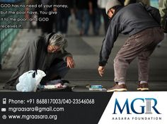 MGR Aasara foundation believes that love, care and help matters something to someone in their lives. let our love,care be true and help others without any expectations & make the life of atleast one! Be a part of donations and join us to serve and help the need! For more details pls contact: Contact Details:  Phone: +91 98660 87878 040-23546068.  Email id :mgraasara@gmail.com Logonto: www.mgraasara.org  # mgr, #mgraasarafoundation, #help, #serve, #care
