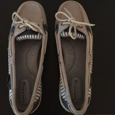 Light Blue Sperry Top-Sider's Barely worn light blue Sperry's! Sperry Top-Sider Shoes Flats & Loafers