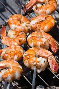 marinated grill shrimp