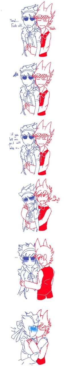 [Eddsworld] ^q^ (tomtord and shining warning) by HuiRou