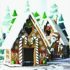 Gingerbread house.