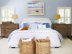 Bedroom - Cool Ways to Beach Up Your House on HGTV