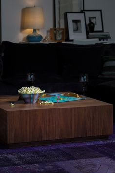 Kona Natural Walnut Square Coffee Table on @HauteLook