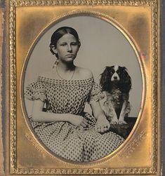 American, ca. 1858 by Elijah R. Perkins. Christopher Warren Fine Photography, nr. ib173
