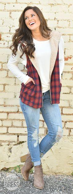 Warm Soul Reversible Vest | Monday Dress