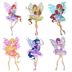 Winx Club Season 7 Butterflix by Nommine on DeviantArt