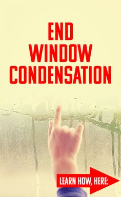 Humidity and condensation have homeowners worrying about their windows. Learn all about humidity levels and how to control (and even eliminate! Window Condensation, Vinyl Replacement Windows, Window Company, Inside Home, Window Styles, House Windows, Vinyl Siding, Window Cleaner
