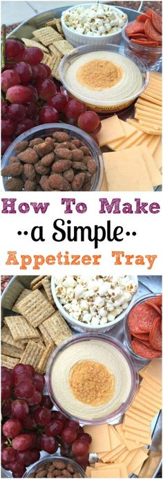 How To Make a Simple Appetizer Tray - Picky Palate