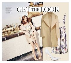 """""""get the look- rose bryne"""" by hopedryden-1 ❤ liked on Polyvore"""