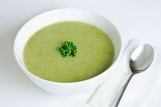 Parsley Soup: Whip up this soup recipe in no time for a quick and easy appetizer.
