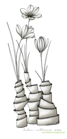 a little lime: crocus, stacks and trumpets