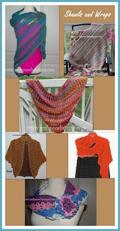 Posh Pooch Designs Dog Clothes: Shawls And Wraps for Mom, For You And Me - Free Cr...