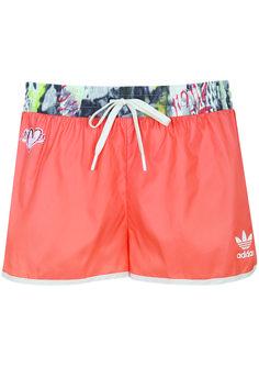 Topshop x Adidas collaboration shorts