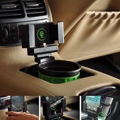 Fouring Car Smart Cell Phone Cup Holder Cradle OEM Mount Holder Dock