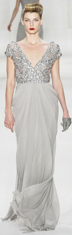 You may also like :Elie Saab Spring 2009 Ready To Wear CollectionElie Saab Fall 2010 Ready To Wear CollectionElie Saab Fall 2012 Ready To Wear CollectionElie Saab Fall 2013 Ready To Wear CollectionElie Saab Fall 2011 Ready To Wear Collection Elie Saab Spring, Shades Of Grey, Formal Dresses, Wedding Dresses, One Shoulder Wedding Dress, Ready To Wear, Couture, Elegant, How To Wear