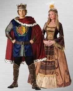 Renaissance Faire Group Costume Ideas - Halloween Costumes ...  Renaissance King And Queen