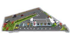 Etudes pour station de lavage auto - Etudes Concept