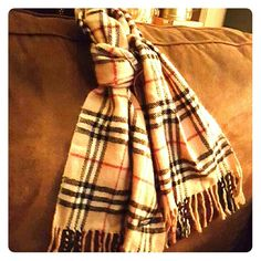 Burberry scarf Classic Burberry London scarf Burberry Accessories Scarves & Wraps