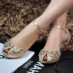 Wedding and reception ideas: Mira estos zapatos, lindos y super comodos para ve...