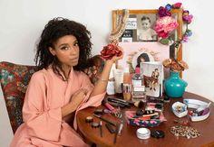 Lianne La Havas at her dressing table