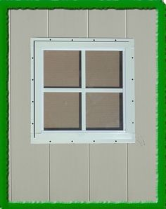 We have a huge selection of barn and shed windows to build your outdoor structure. Most of our shed windows come with either a Flush Mount flange or J-channel. Outdoor Buildings, Windows, Small Sheds, Building A Shed, Playhouse Windows, Build Your Own Shed, Shed Windows, Shed Kits, Play Houses